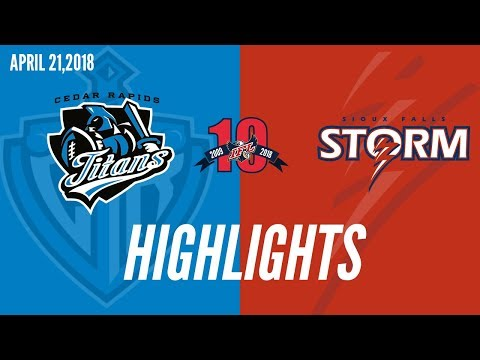 Week 9 Highlights | Cedar Rapids at Sioux Falls