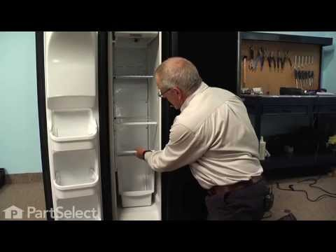 frigidaire electrolux refrigerator repair replacing the defrost 8 58