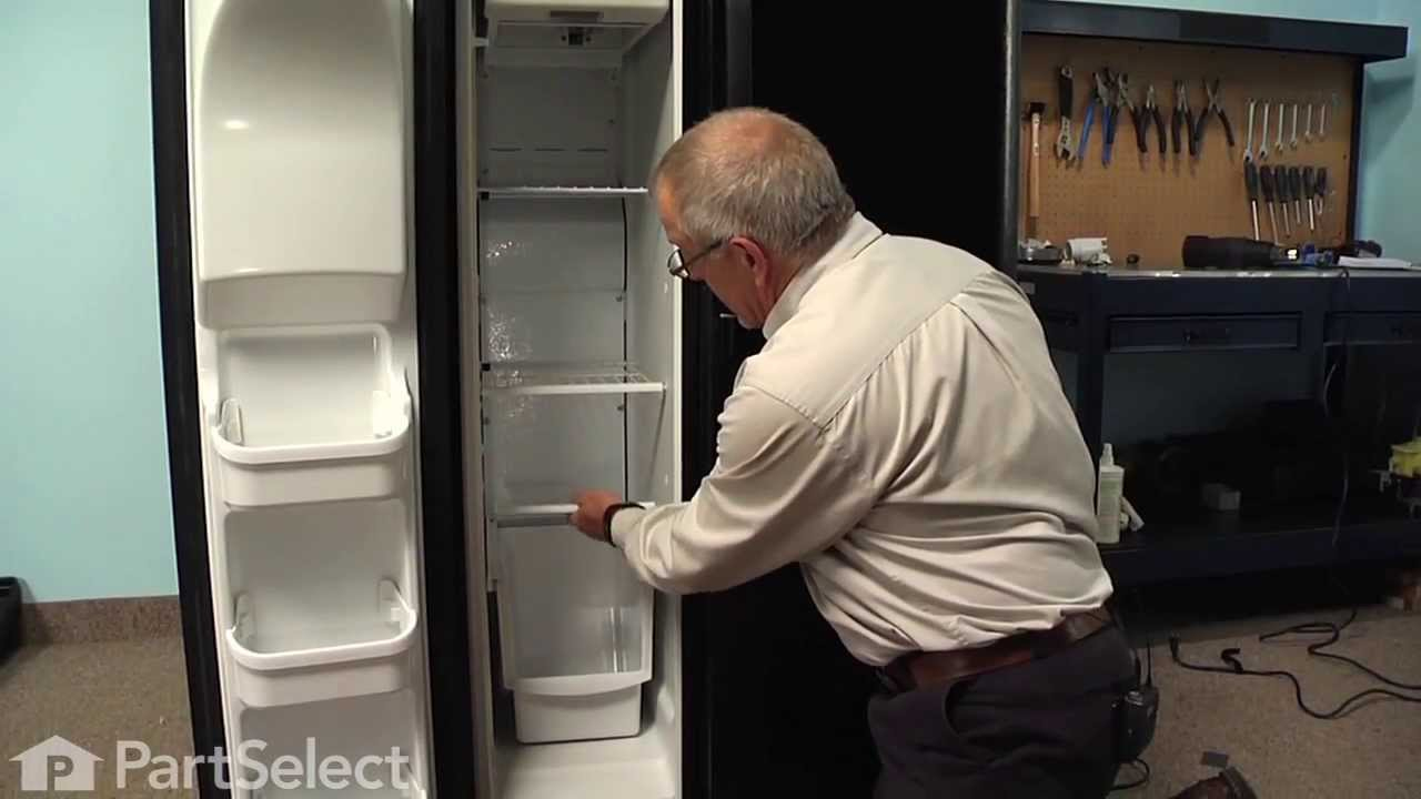 Refrigerator Repair Replacing The Defrost Thermostat Frigidaire Wiring Diagram Youtube Premium