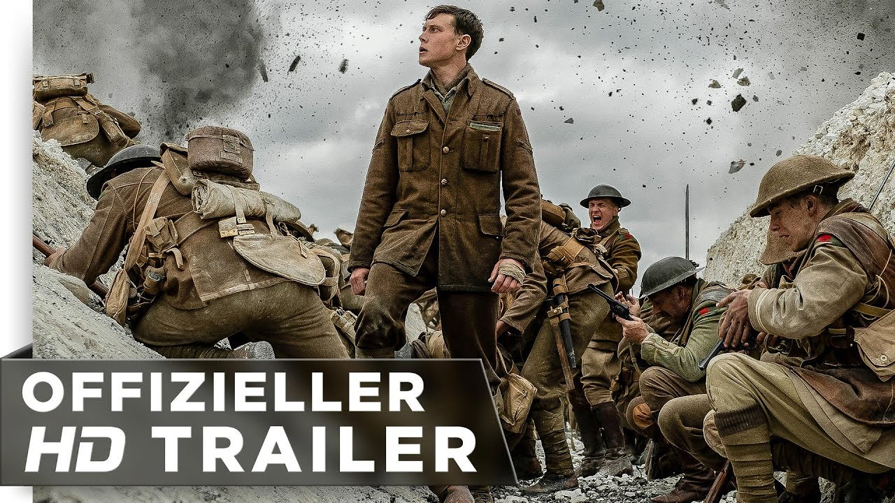1917 - Trailer deutsch/german HD