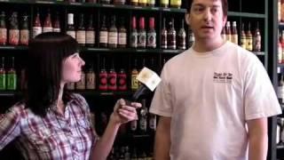 Hot-pepper taste-test at Tears of Joy Hot Sauce Shop
