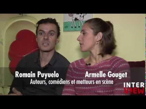 """Interview Visioscène - Romain Puyuelo et Armelle Gouget """"le bal des abeilles"""""""