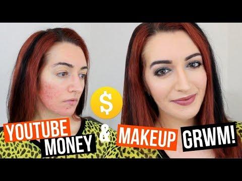 Talking YOUTUBE MONEY, DEMONETIZATION + MAKEUP! Glam GRWM || Jess Bunty