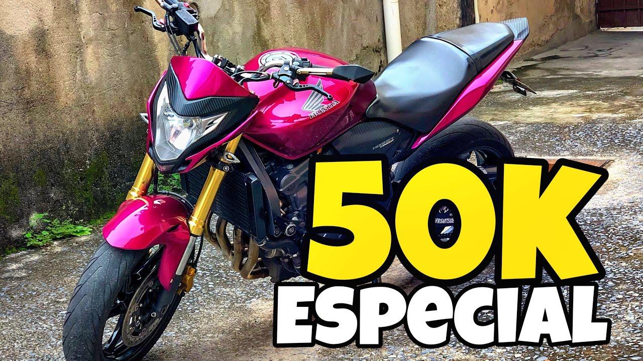 ESPECIAL 50 MIL INSCRITOS QUAL SERA A NOVA COR DA HORNET?!