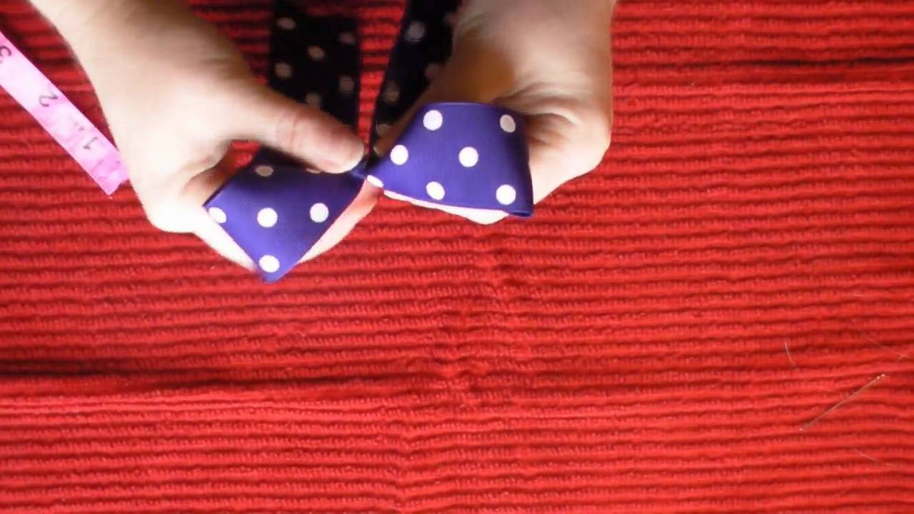 How To Make A Cheer Hairbow Doovi