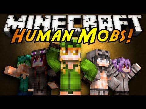 minecraft-mod-showcase-:-human-mobs!