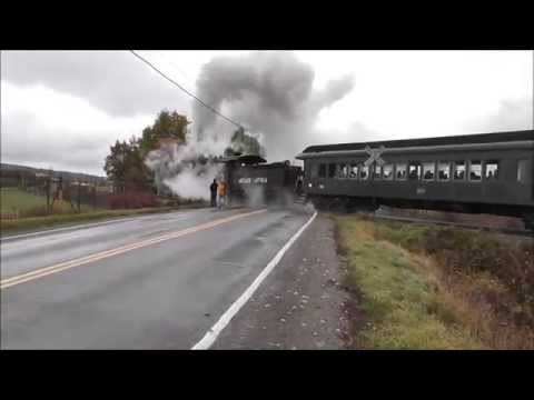 Trains of Wyoming County New York