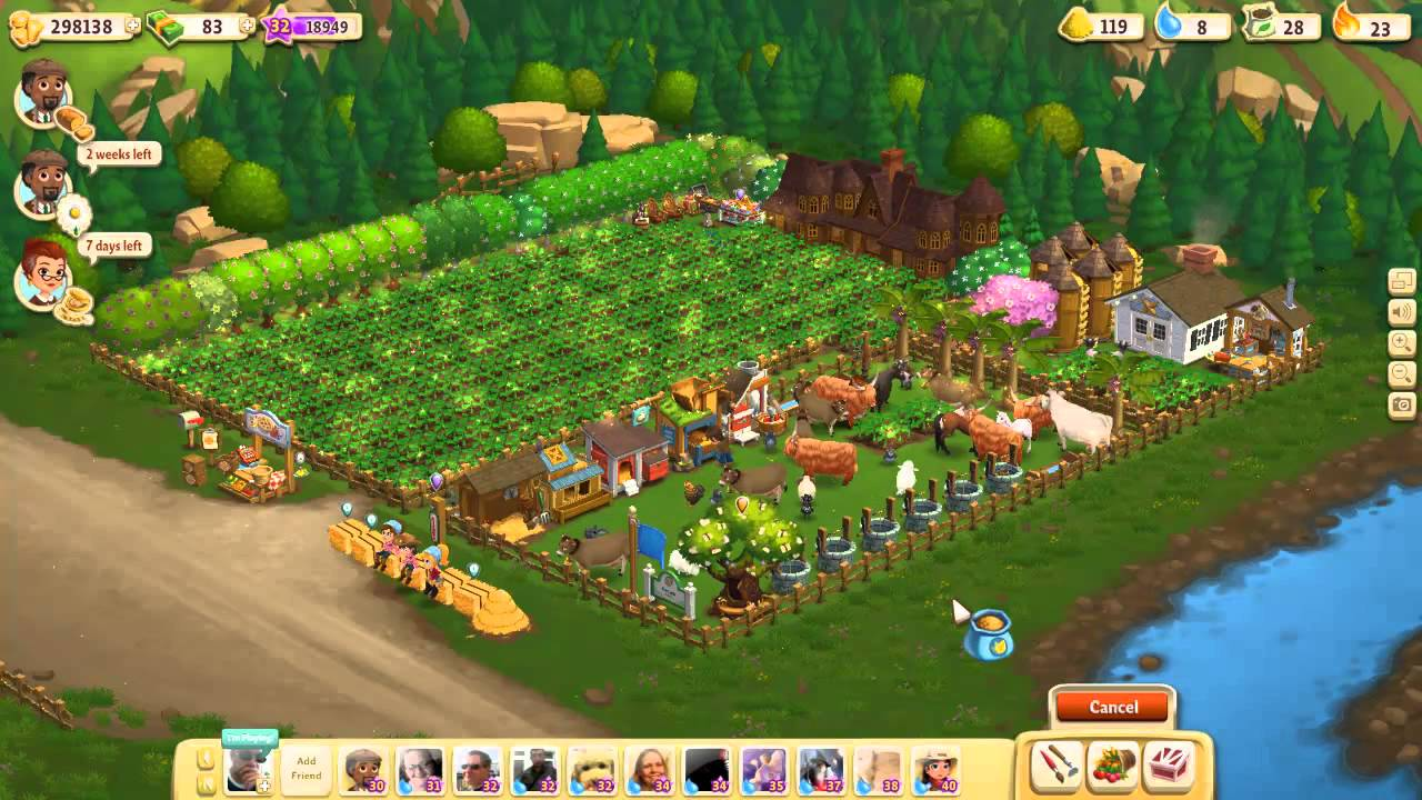 Farmville 2 getting 10 000 xp in 3 minutes youtube for Farmville 2 decorations