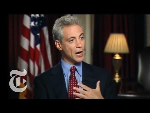 National: John Harwood Interviews Rahm Emanuel | The New York Times
