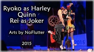 Harley Quinn and lady Joker 2015 © R&R