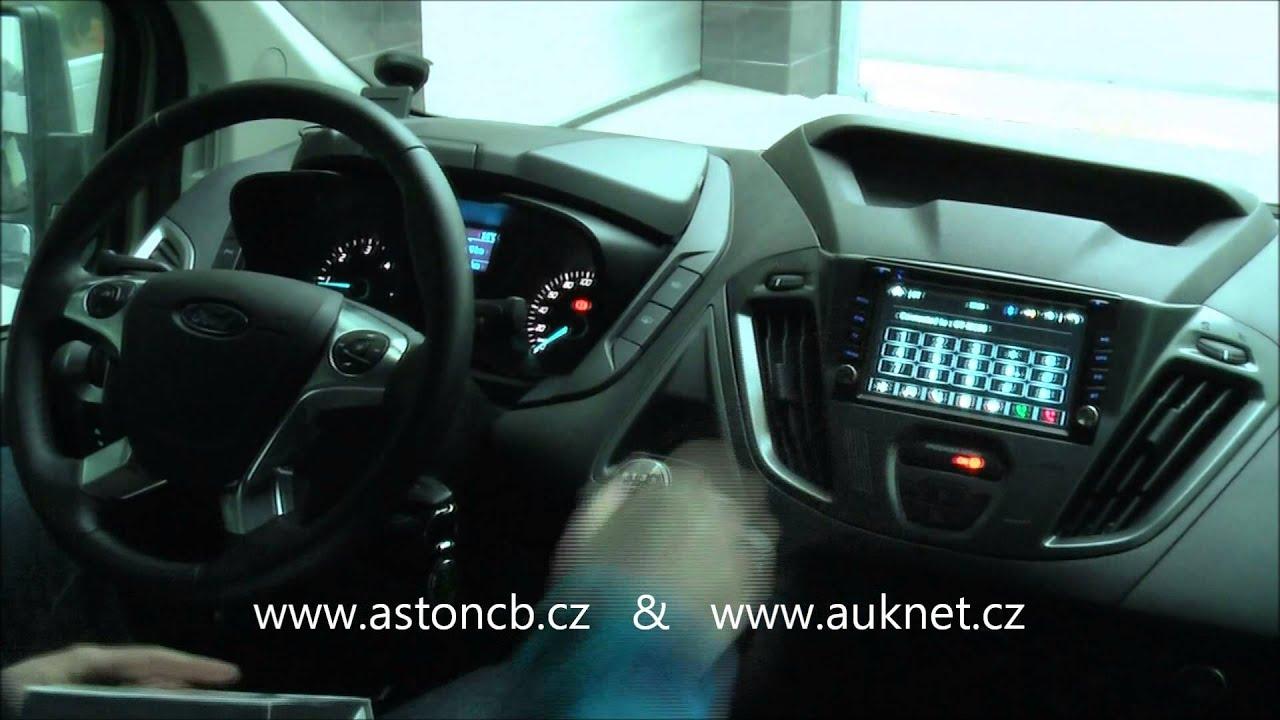 "Montáž 2DIN autorádia HELL 6,2"" GPS do Ford Tourneo Custom ..."