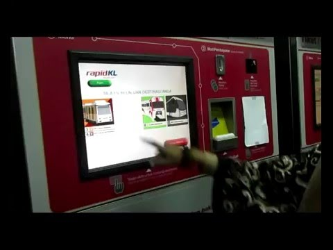 How to buy Train ticket in kuala lumpur