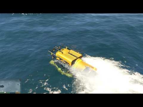 Đi phượt GTA 5 #1 - Hành trình khám phá đại dương (phần 1)