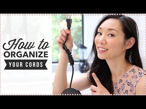 How to Eliminate Clutter & Organize Cords // Tip Tuesdays with Angel Wong