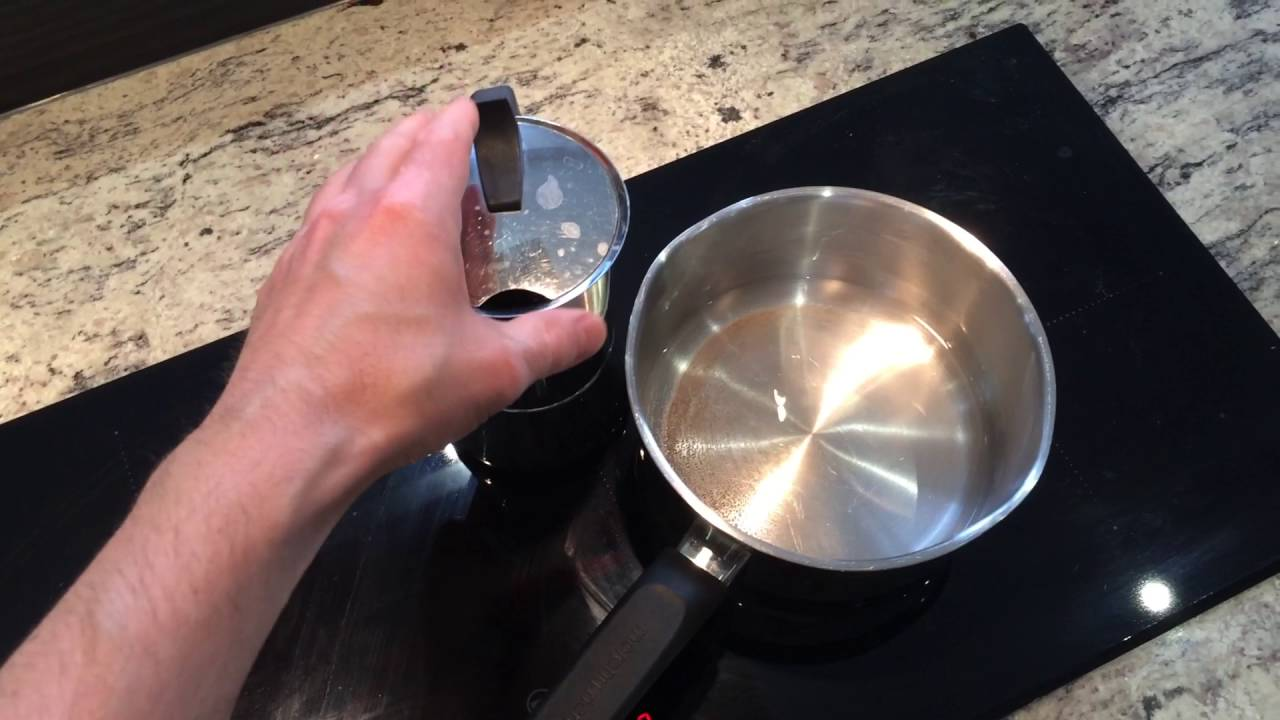 Diy Make A Small Pot Work On An Induction Cooktop