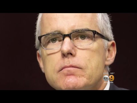 Sessions Fires Former Deputy FBI Director Andrew McCabe