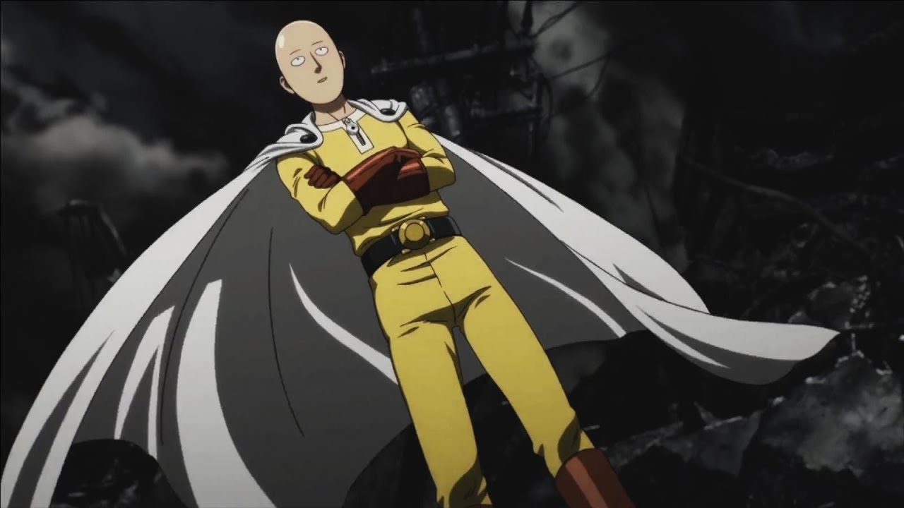 One punch man anime official trailer amv youtube - Funny one punch man wallpaper ...