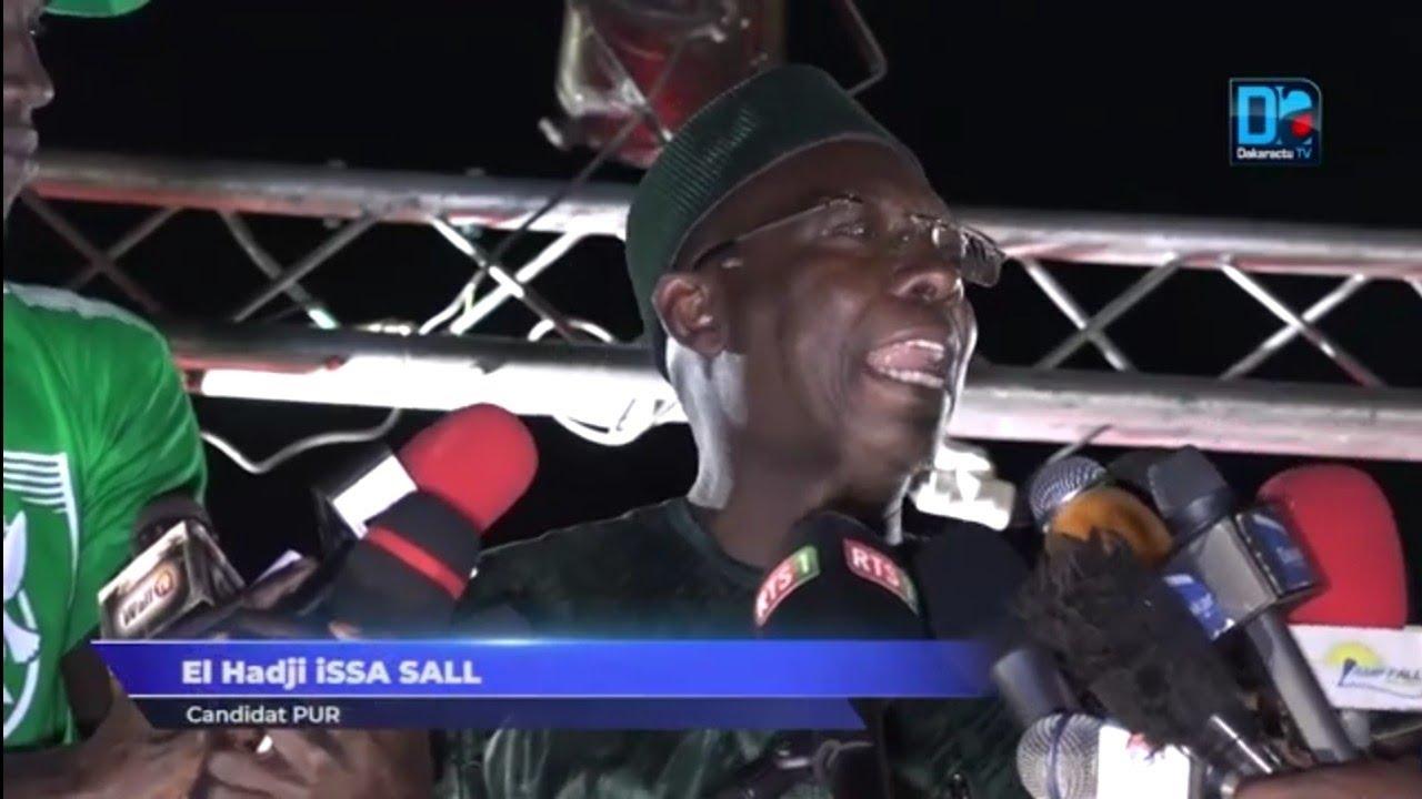 Présidentielle 2019 / Sécurité : Issa Sall promet le renforcement de la sécurité frontalière, des forces de l'ordre et la création d'une brigade spéciale anti criminels