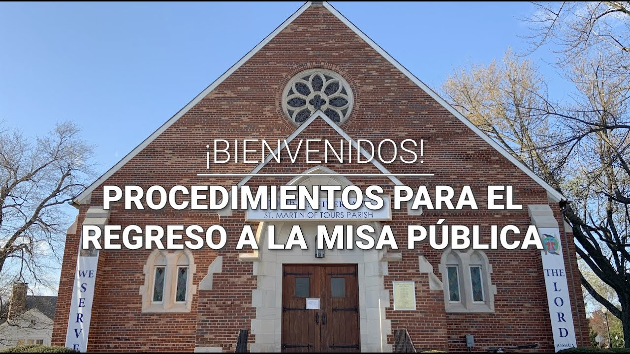 Reapertura de las Misas Públicas