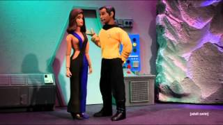 robot chicken star trek parody