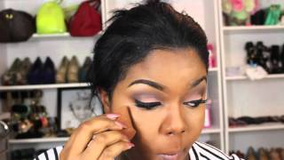 My Everyday Foundation, Highlight, and Contour Routine ❤️ | thefashionvixen