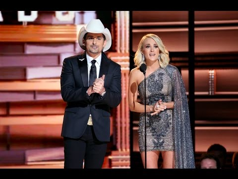 The CMA Awards poked fun at the 2016 election