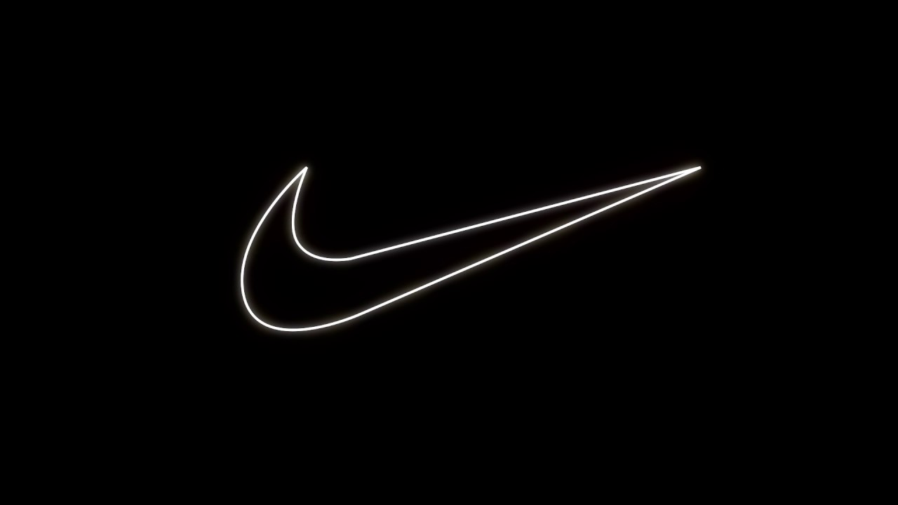 Nike logo animation - After Effects