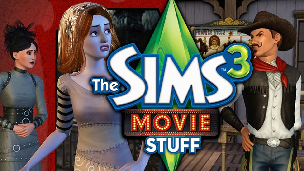 The Sims 3 Movie Stuff Pack! - YouTube