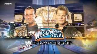 2012- WWE Wrestlemania 28 Match Card (Full) (720p HD) + Download Link (Theme Song