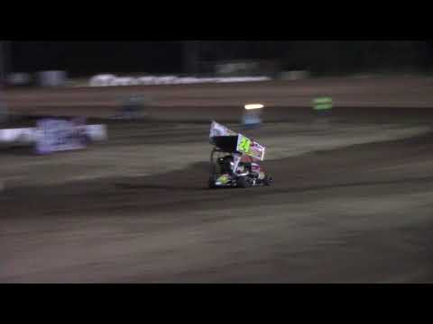 Cottage Grove Speedway, OR - 125cc Cage-Kart A Main - August 25, 2017