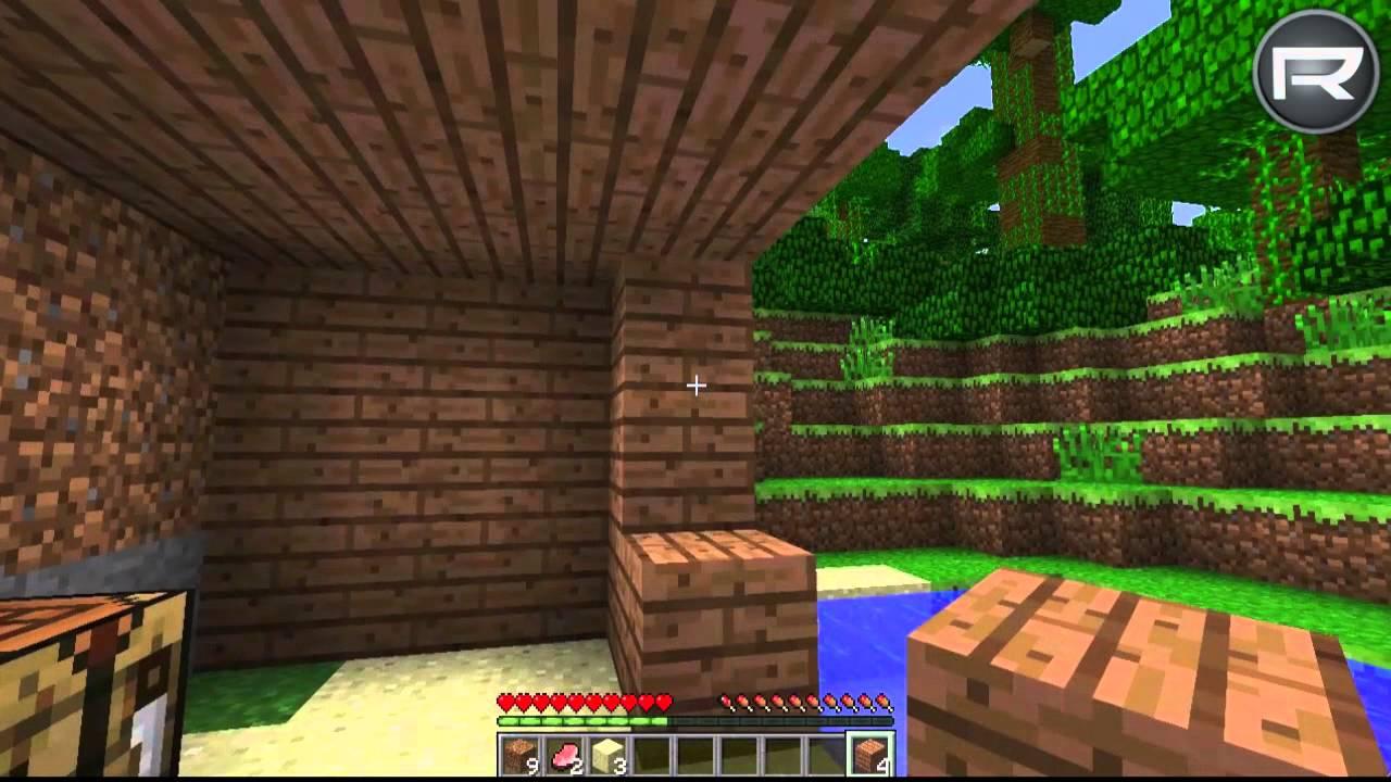 Minecraft ??!! - Primeiro dia no jogo!!