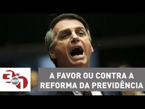 Andreazza: Quero Saber Se Jair Bolsonaro é A Favor Ou Contra A Reforma Da Previdência