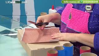 Manualidades con material de reciclaje - Hecho con Estilo