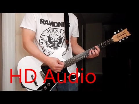 Ramones – Oh Oh I Love her So (Guitar Cover), Barre Chords, Downstroking, Johnny Ramone