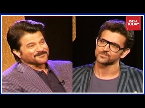 Exclusive : Anil Kapoor & Hrithik Roshan In Conversation   India Today Unforgettables