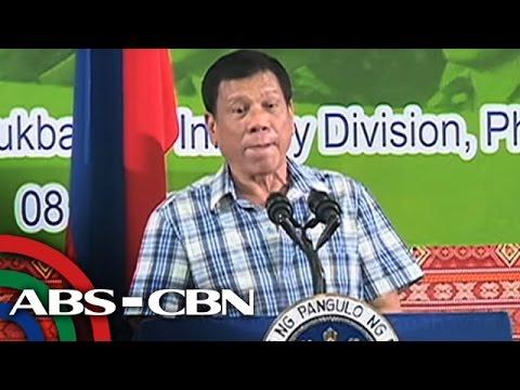TV Patrol: Duterte, handang isiwalat ang malalaking tax evaders