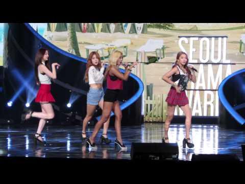 I Swear - Sistar (씨스타) Live @ Seoul Drama Awards 2014 (서울 드라마 어워즈)