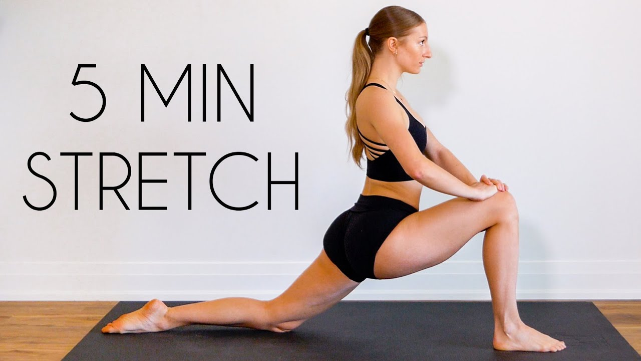5 Min Daily Stretch – An Everyday, full body routine