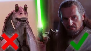 Why the Star Wars Prequels Weren't that Bad. Pt  1 (Phantom Menace)
