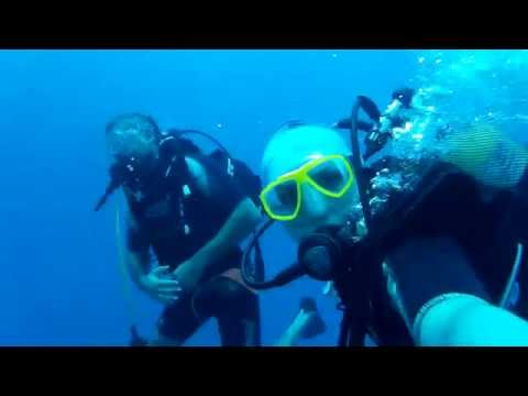 Scuba Diving & Using Regulator Octopus @ Cove of Bogsak - Mersin / Turkey