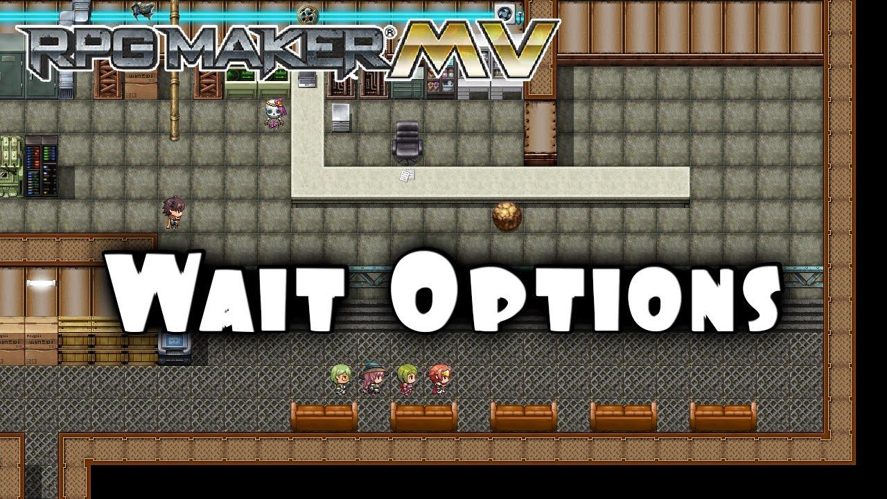 Wait Options – MV Plugin – RPG Maker MV Plugins