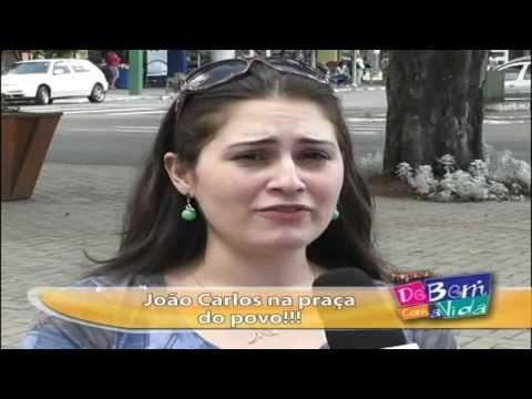 JOÃO CARLOS NA PRAÇA DO POVO