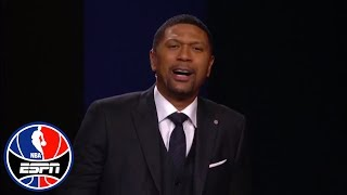 Jalen Rose makes impassioned plea to put Damian Lillard in NBA All-Star Game | NBA Countdown | ESPN