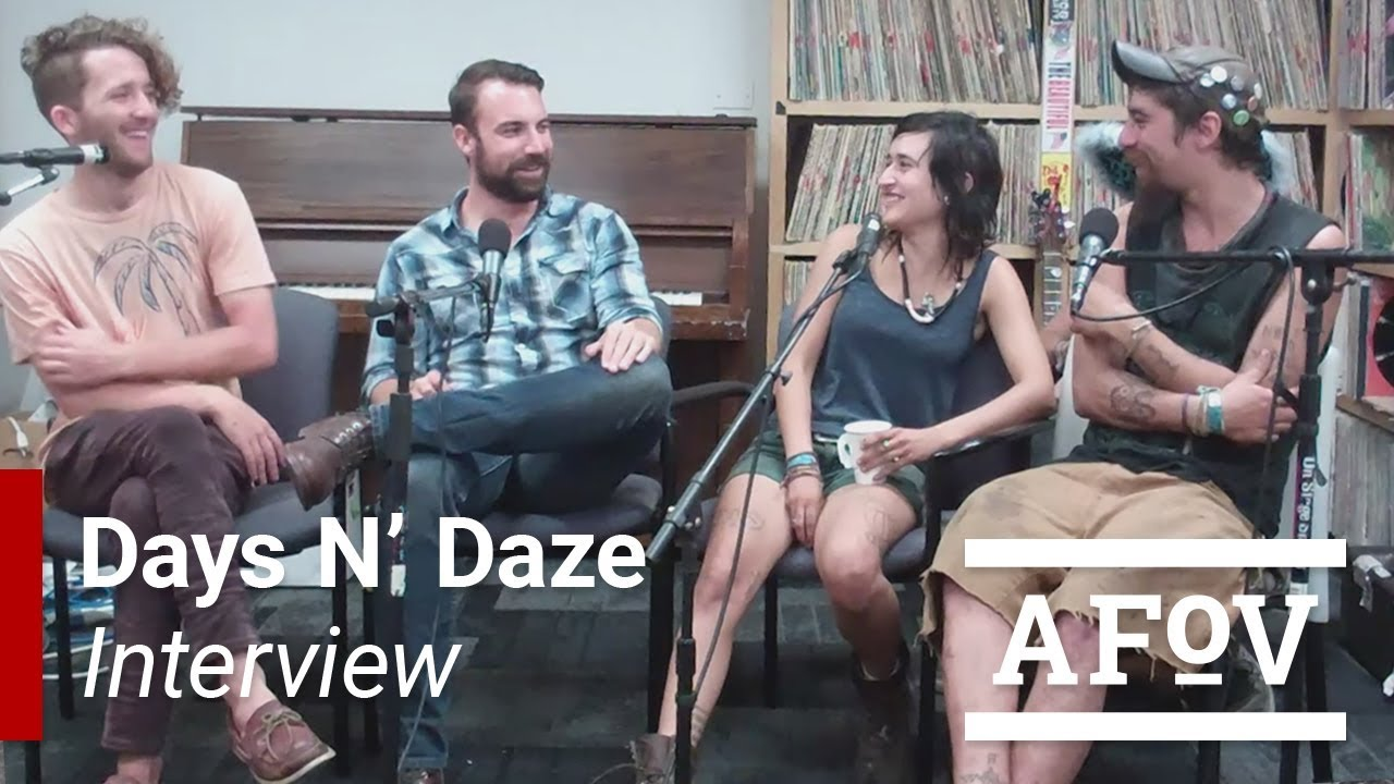 Days N Daze Interview With A Fistful Of Vinyl Youtube