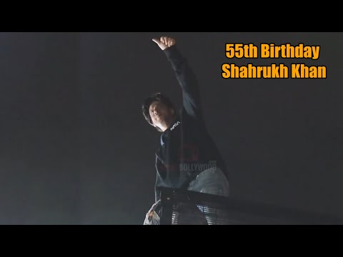 Happy 55th Birthday Shahrukh Khan | King of Bollywood