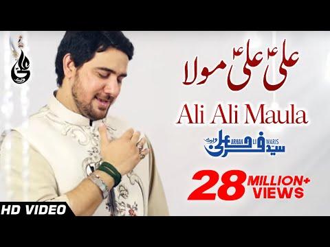 Ali Ali Mola - Farhan Ali Waris - Manqabat - 2016
