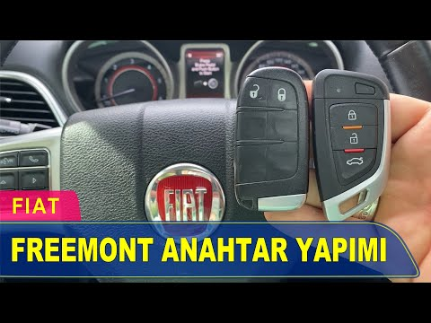 Fiat Freemont Anahtar Yapımı   Yedek Kopyalama - Oto Anahtarcı İstanbul