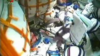 Soyuz TMA-17 launch