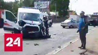 Авария на Щелковском шоссе парализовала движение на крупном автовокзале столицы - Россия 24