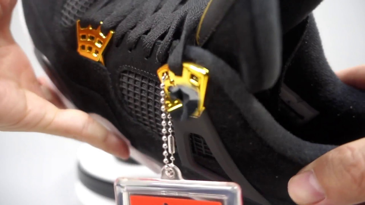 0fbcdb373cd8 Jordan 4 Royalty on feet Review by BrosShoes 308497-032 - YouTube